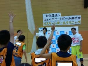 たくさんの子が「楽しかった!」と手を挙げてくれました
